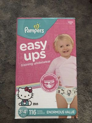 Pampers Easy Ups Training Underwear (3T-4T) for Sale in The Bronx, NY