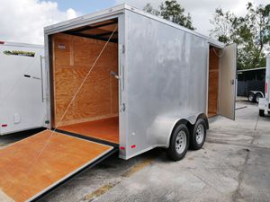 7 x 16 Enclosed Trailer for Sale in Fort Lauderdale, FL