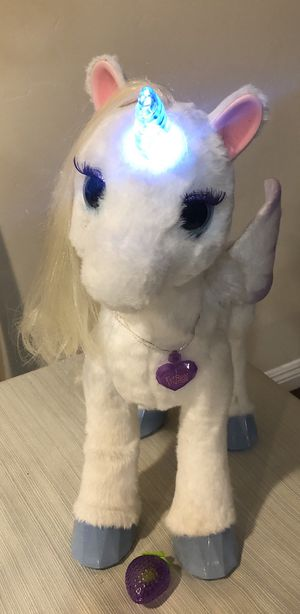 Furreal Friends Starlily My Magical Unicorn Plush Interactive Pet for Sale in Spring Valley, CA