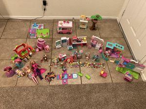 Girl Toys LOT: Shopkins, Barbie, Shoppies for Sale in Glendale, AZ