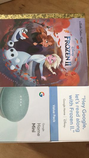 Frozen 2 Google home mini for Sale in Windsor Mill, MD