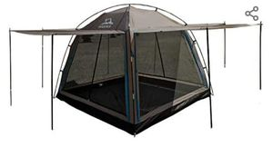 Hasika All-Weather Diversified 8ft x 8ft Screened Canopy 4-Person Camping Tents(not Include Outside Poles for Sale in Glendale, AZ