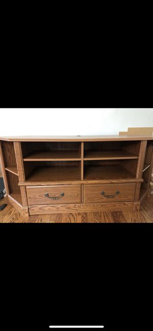 TV Stand and with storage for Sale in Ridley Park, PA