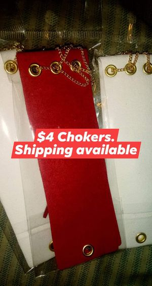 Chokers for Sale in San Bernardino, CA