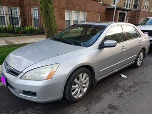 2007 honda accord one owner loaded runs great for Sale in Chicago, IL
