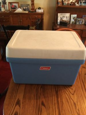 Vintage Coleman Cooler with Metal Handles - $10.00 for Sale in St. Louis, MO