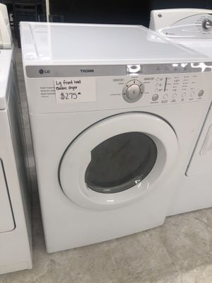 Lg front load electric dryer in perfect condition! for Sale in Laurel, MD
