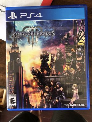 Kingdom Hearts 3 (PlayStation) for Sale in San Diego, CA