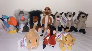 New Disney Lion King complete set with tags Beanie Babies for Sale in Downers Grove, IL