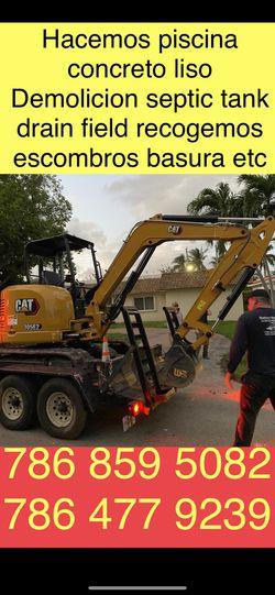 Excavator Bobcat And Volteo ✅ for Sale in Miami,  FL