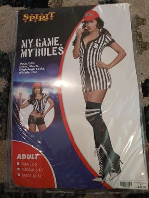 My game my rules Halloween costume women for Sale in Sacramento, CA