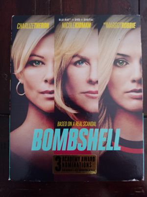 BOMBSHELL (BLU RAY + DVD) ***SEE OTHER POSTS*** for Sale in El Cajon, CA