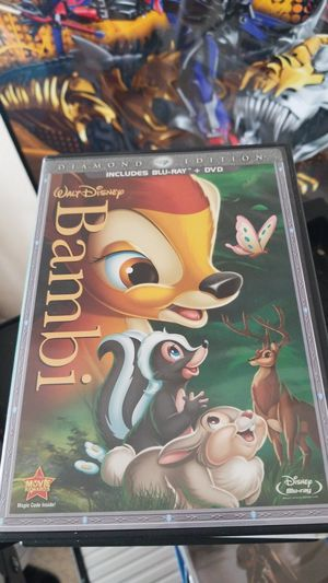 Bambi DVD and blue ray for Sale in Las Cruces, NM
