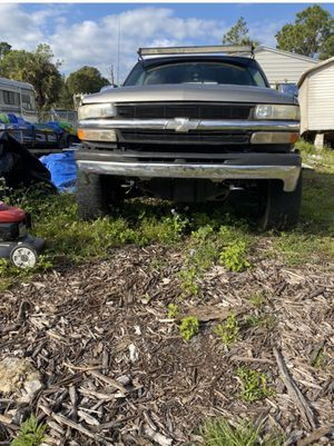 Chevy truck 4x4 big wheels for Sale in Naples, FL