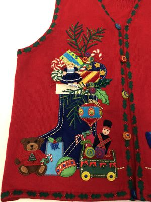 Marisa Christina Woman Christmas Sweater Vest for Sale in Arlington, TX