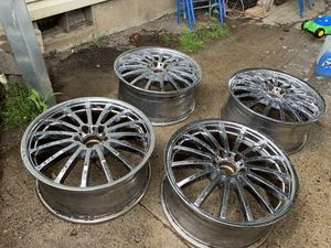 Tsw 19in chrome rims 5x112 for Sale in Woodburn, OR