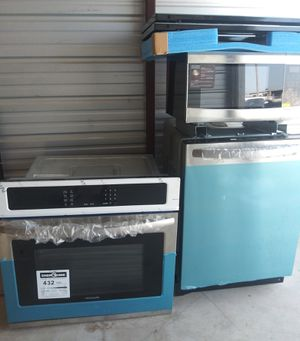 Oven Dishwasher Oven set for Sale in Oklahoma City, OK