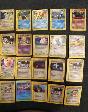 2002 Pokémon cards holo/ non holo e-series for Sale in Los Angeles, CA