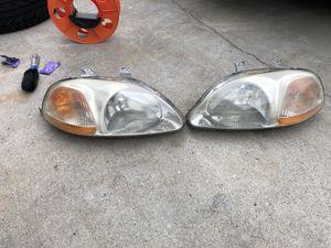 1996-1998 Honda oem factory headlights for Sale in Stone Mountain, GA
