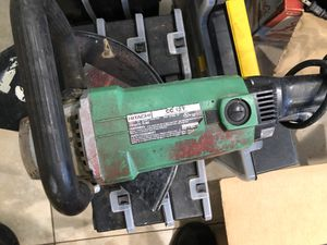 "Hitachi 12"" Electric Concrete Saw CC12Y for Sale in Cooper City, FL"
