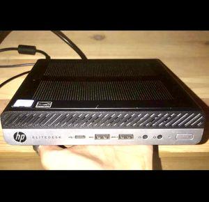 HP EliteDesk 800 G4 Mini Desktop/Computer for Sale in San Diego, CA