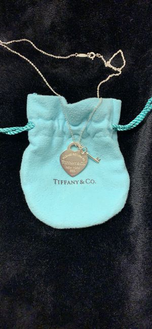Tiffany & Co. Heart and Key Pedant for Sale in Herndon, VA