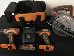Ridgid drill combo for Sale in Pasadena, TX