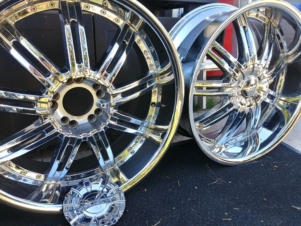 22inch truck chrome rims