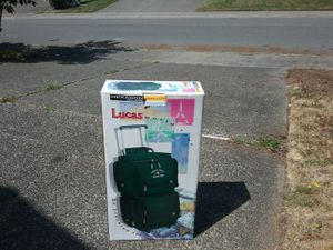 Lucas Wheeling Duffle Bag Suitcase Backpack Brand New for Sale in Federal Way, WA