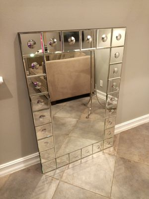 Williams Sonoma Home Etched Rectangular Mirror for Sale in Oakland Park, FL