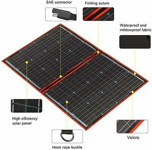 Dokio 80 watts portable solar panel for Sale in Los Angeles, CA