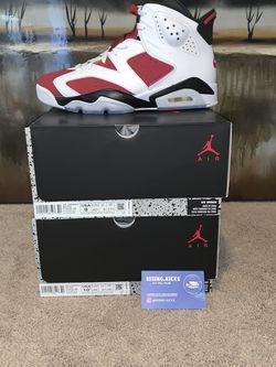 Jordan 6 Carmines for Sale in Franklin,  TN