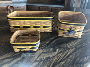 Longaberger Michigan collection for Sale in Scottsdale, AZ