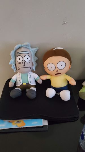 Rick and Morty Plushie for Sale in Minneapolis, MN