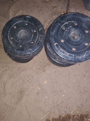 15 pounds weights set of 4 / 10 pounds weights set of four for Sale in Rio Rancho, NM