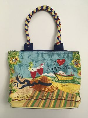 Canvas beach tote bag/purse for Sale in Brandon, FL