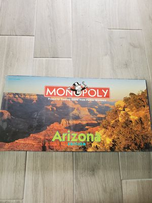 Monopoly board game Arizona edition for Sale in Phoenix, AZ