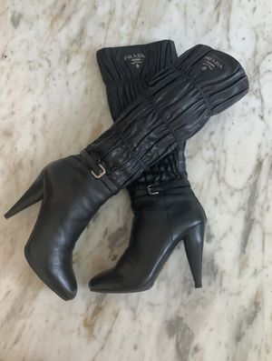 Prada heels boots for Sale in Hollywood, FL