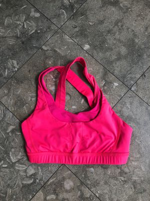 Lululemon Hot Pink Sports Bra - Size 4 for Sale in Manhattan Beach, CA