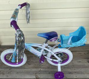 """Brand New 12"""" Frozen Bike with Matching Helmet for Sale in Disputanta, VA"""