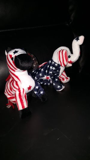 Ty Beanie Babies. Year 2000 righty and Lefty for Sale in Santa Ana, CA