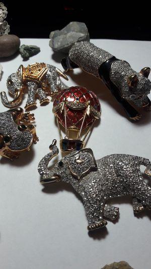 Rhinestone animal brooches for Sale in Albuquerque, NM