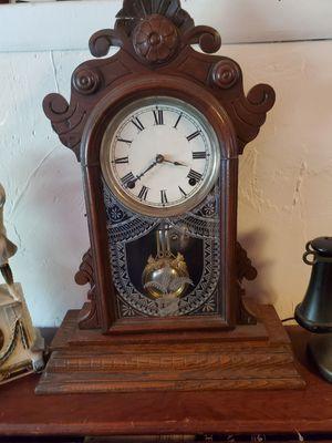 Antique wood clock for Sale in St. Petersburg, FL