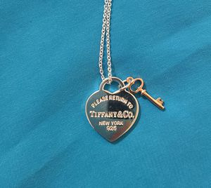 Tiffany & Co Heart Tag With Key Necklace for Sale in Alafaya, FL
