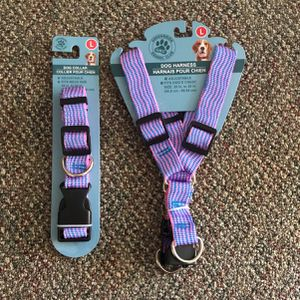 Largre Dog Collar&Harness for Sale in Whittier, CA