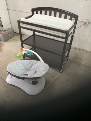 Changing Table n 4Moms Infant Swing for Sale in Mableton, GA
