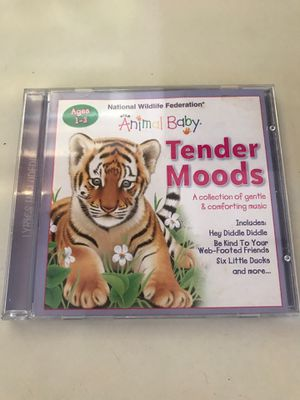 NATIONAL WILDLIFE FEDERATION ANIMAL BABY TENDER MOODS CD MUSIC for Sale in Newport Beach, CA