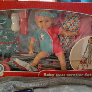 Kid CONNECTION BABY DOLL AND STROLLER SET for Sale in Nashville, TN