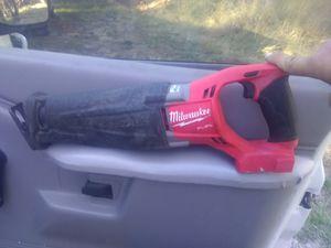 Milwaukee m18 fuel sawzal for Sale in Lakeside, AZ
