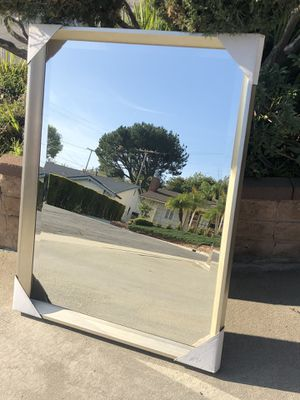 """Home House Reflective Big Wall Mirror """"New"""" (price firm) for Sale in Monterey Park, CA"""